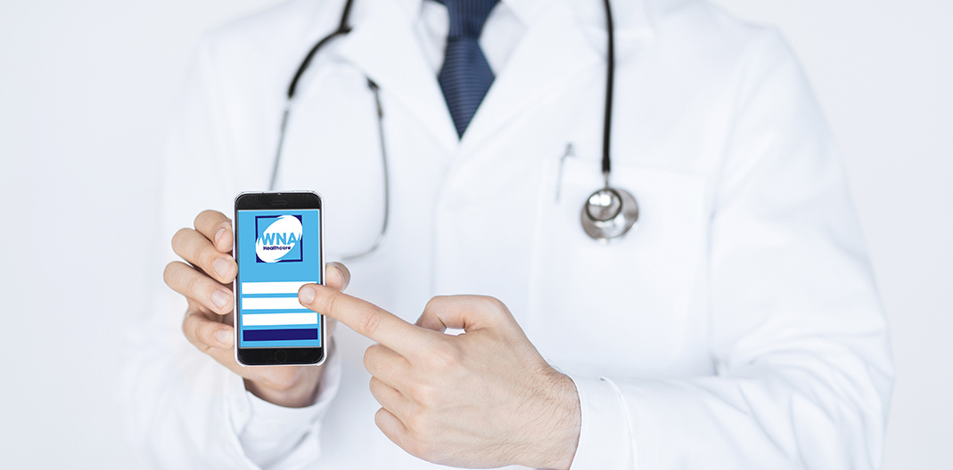 Download the WNA App for healthcare professionals - WNA Healthcare